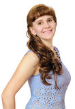The smiling young woman Royalty Free Stock Image
