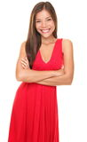 Smiling young woman portrait Stock Image