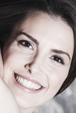 Smiling young woman portrait Royalty Free Stock Photo
