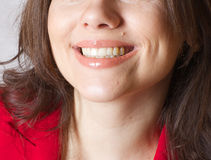 A smiling young woman Royalty Free Stock Photo