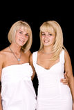 Smiling young women Royalty Free Stock Photos