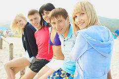Smiling youth Stock Photography