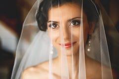Smilling невеста Стоковые Фотографии RF