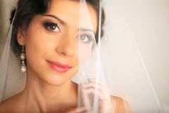 Smilling невеста Стоковое Фото