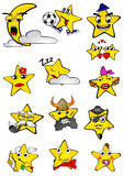 Smilling星 库存图片