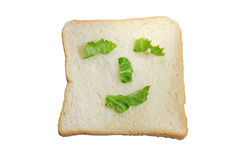 Smilling bread Stock Photo