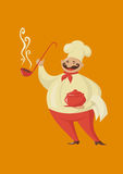 Smilling cook chef Royalty Free Stock Image