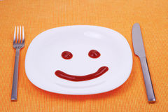 Smilling face Royalty Free Stock Photos