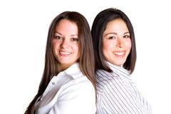 Smilling Geschäftsfrauen Lizenzfreie Stockfotos