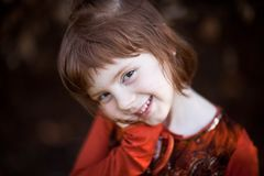 Smilling girl Stock Photography