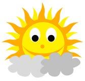 Smilling słońce Obraz Stock