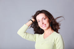 Smilling woman Royalty Free Stock Image