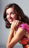 Smilling woman Royalty Free Stock Photos