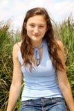 Smilng tonåring Royaltyfri Fotografi