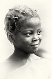 Smily girl from Ghana Stock Image