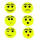 Smily twarze Fotografia Royalty Free