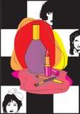 smink stock illustrationer