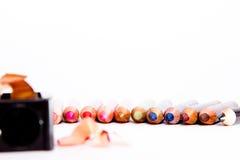 Sminket ritar Fotografering för Bildbyråer