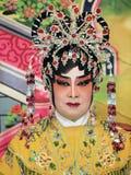 Sminkstil av den kinesiska operan Arkivbilder