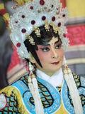Sminkstil av den kinesiska operan Royaltyfri Bild