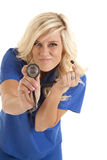 Smirk stethoscope Royalty Free Stock Photography
