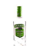 Smirnoff Green Apple Vodka Stock Image