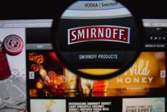 Smirnoff Vodka Royalty Free Stock Image