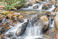 Smith Creek near Helen Ga. Royalty Free Stock Images