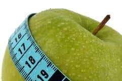 Smith de avó fresco da dieta da maçã fotografia de stock
