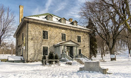 The Smith House. As well as being the headquarters of Les amis de la montagne, the Maison Smith is the entry point to Mount Royal Park. A heritage building Royalty Free Stock Photos