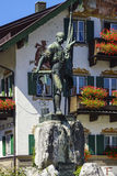 Smith of Kochel monument, Bavaria Stock Images
