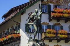 Smith of Kochel monument, Bavaria Royalty Free Stock Photos