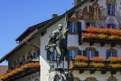 Smith of Kochel monument, Bavaria Stock Photo