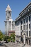 Smith-Kontrollturm Seattle Stockbilder