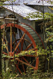 Smith Mill Water Wheel Immagine Stock