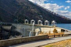 Smith Mountain Hydroelectric Dam royalty-vrije stock foto's