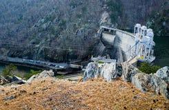 Smith Mountain Hydroelectric Dam Lake royalty-vrije stock afbeeldingen