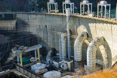 Smith Mountain Hydroelectric Dam Lake royalty-vrije stock foto's