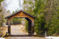 Smith Rapids Covered Bridge Royalty Free Stock Photo