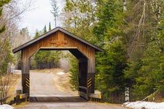 Smith Rapids Covered Bridge Royalty Free Stock Photo