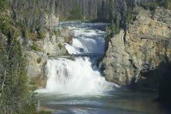 Smith River Falls - Colombie-Britannique du nord Photo stock