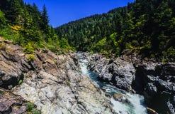 Smith River Gorge Arkivbilder