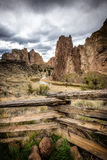 Smith Rock, Bend, Oregon, USA Royalty Free Stock Photo