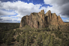 Smith Rock, Eastern Oregon, USA Royalty Free Stock Photos