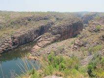 Smith Rock, het Nationale Park van Nitmiluk, Noordelijk Grondgebied, Australië stock foto's