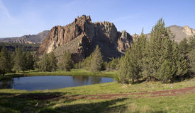 Smith Rock Oregon Historical Tourist Attraction Royalty Free Stock Photo