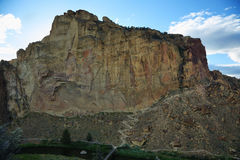 Smith Rock Park royaltyfri bild