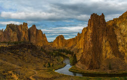 Smith Rock Park, OR. Smith Rock Park in Central Oregon is a nice place to hike, rock climb , to walk and enjoy the beautiful view stock images