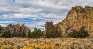 Smith Rock Park, OR Royalty Free Stock Photography
