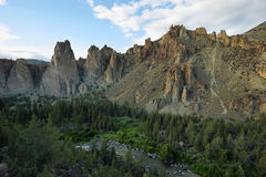 Smith Rock Park. Crooked river in Smith Rock Park, Oregon Stock Photography